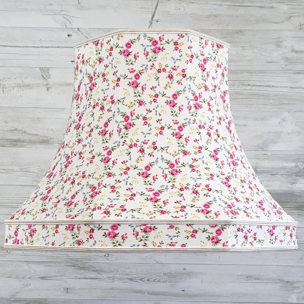 Retro Lampshade Pink Rose